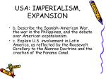 usa imperialism expansion
