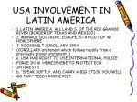 usa involvement in latin america