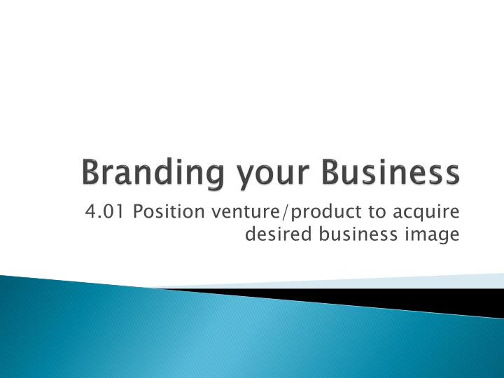 branding your business n.
