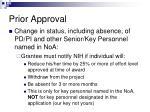 prior approval2