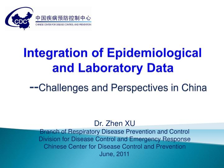 integration of epidemiological and laboratory data n.