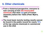 9 other chemicals
