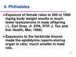 9 phthalates