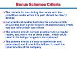 bonus schemes criteria1