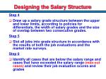 designing the salary structure1