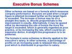 executive bonus schemes1