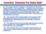 incentive schemes for sales staff1