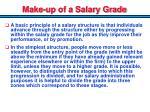 make up of a salary grade