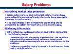 salary problems