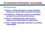 the guide chart profile method accountability2