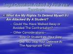 legal questions asked by first year teachers3