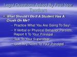 legal questions asked by first year teachers6