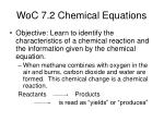 woc 7 2 chemical equations