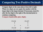comparing two positive decimals2