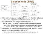 solution tree final
