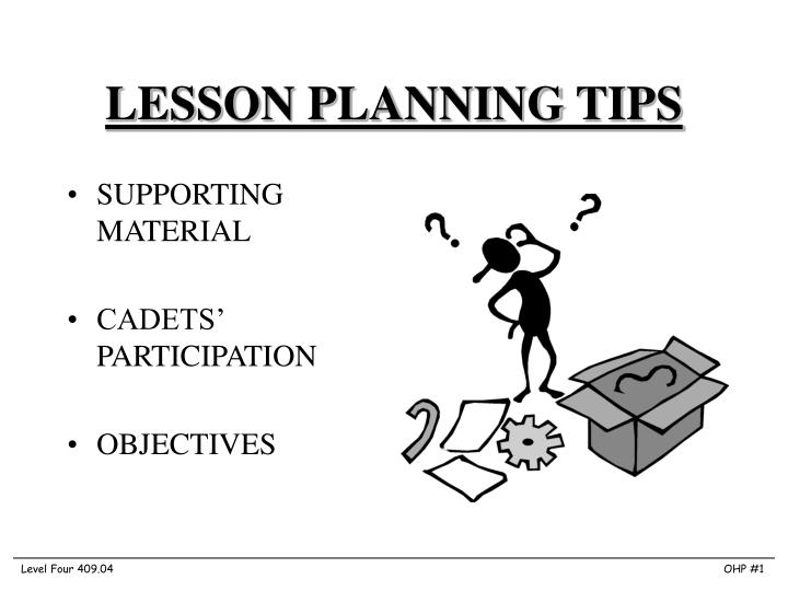 lesson planning tips n.