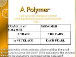 a polymer1