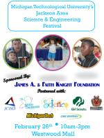 michigan technological university s jackson area science engineering festival