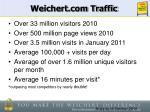 weichert com traffic