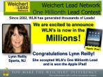 weichert lead network one millionth lead contest