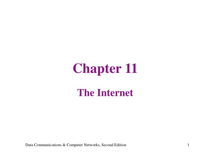 chapter 11 the internet n.