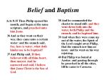 belief and baptism1