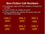 non fiction call numbers1