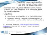 generate mapping between src and tgt decomposition2