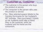 customer vs consumer