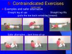 5 contraindicated exercises continued3
