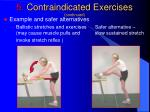 5 contraindicated exercises continued5