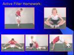 active filter homework