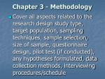 chapter 3 methodology