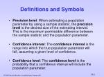definitions and symbols1