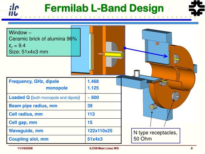 Fermilab L-Band Design