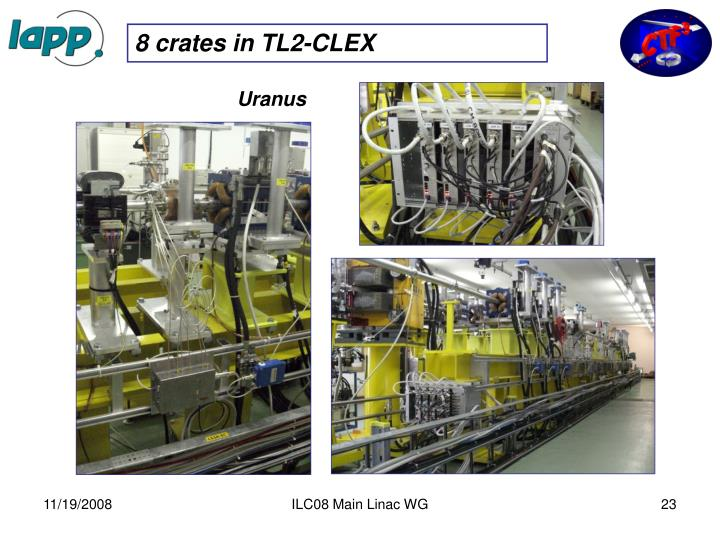 8 crates in TL2-CLEX