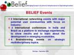 belief events