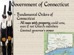 government of connecticut