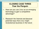 closing case three fear the penguin1