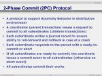 2 phase commit 2pc protocol