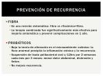 prevenci n de recurrencia