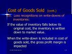 cost of goods sold cont1