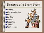 elements of a short story2
