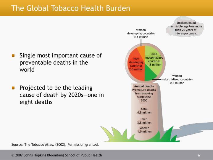Smokers killed