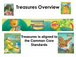 treasures overview
