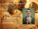 key macro economic issues