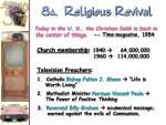 8 a religious revival
