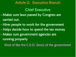 article 2 executive branch11