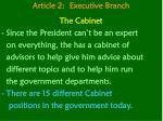 article 2 executive branch17