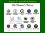 article 2 executive branch18